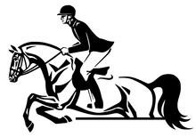 Equestrian Horse Show Jumping ...