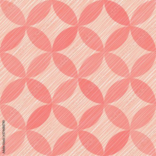Tapeta czerwona  interlacing-circles-parts-artistic-seamless