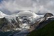 Hochgebirgslandschaft  am Großglockner mit den Bergen der Glocknergruppe und der Pasterze, Nationalpark Hohe Tauern, Osttirol und Kärnten, Österreich