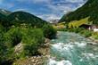 Landschaft an der Schwarzach im Defereggental bei Sankt Jakob, Nationalpark Hohe Tauern, Osttirol, Tirol, Österreich