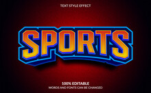 Editable Text Effect, Sports T...