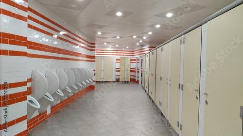 Photo Toilet corridor