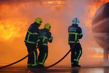 Aircraft Crash, Passenger Jet On Fire