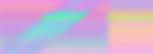 An Abstract Iridescent Background Image.