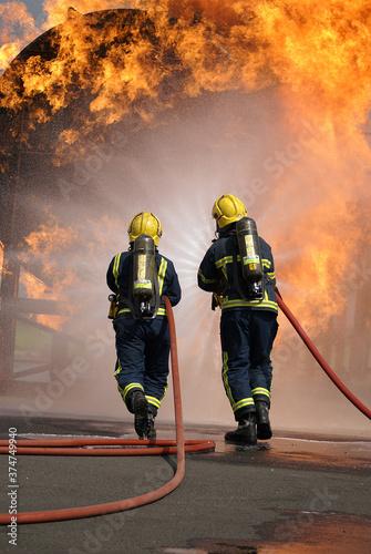 Fotografie, Tablou Fire fighter