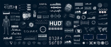 Large And Detailed HUD, UI, GU...