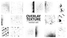 Overlay Texture Set. Different...