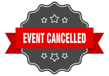 Event Cancelled Label. Event C...