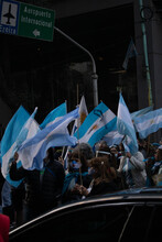Protest Against Judicial Reform, August 27, 2020 Argentina Buenos Aires
