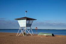 The Lifeguard Tower Of The Nal...