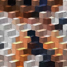 Colorful Abstract Mosaic With ...
