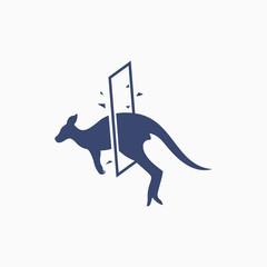 Kangaroo Windows Logo Design Templates