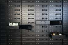 Open Safety Deposit Boxes In B...