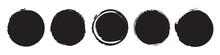 Set Of Five Different Grunge C...