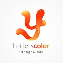 Letter Y Gradient Logo Design ...