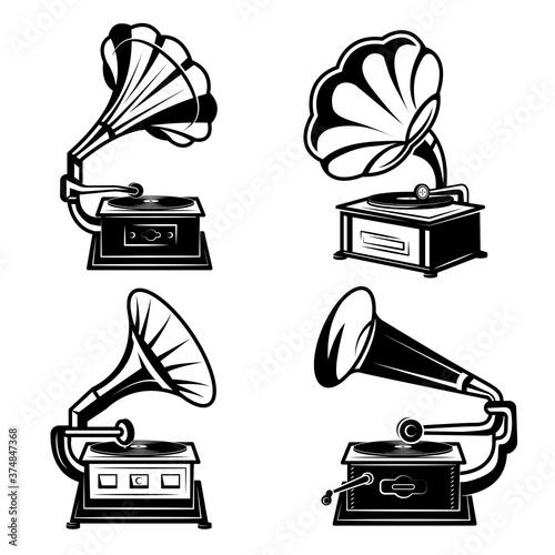 Fotografía Gramophones