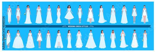 Canvastavla Wedding dress collection