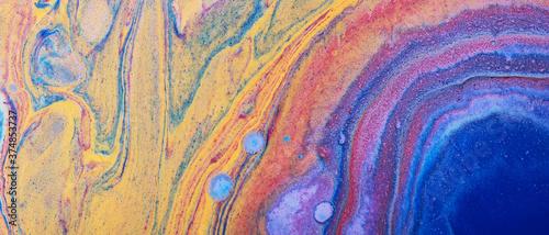 Modern fluid art Wallpaper Mural