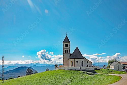 Obraz na plátně Kirche Oberradein