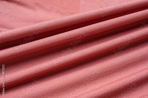 Obraz na plátně Sportswear knitted stretch fabric texture
