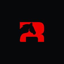 Letter R Horse Animal Wildlife...