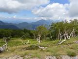 奥日光・前白根山頂上からの風景
