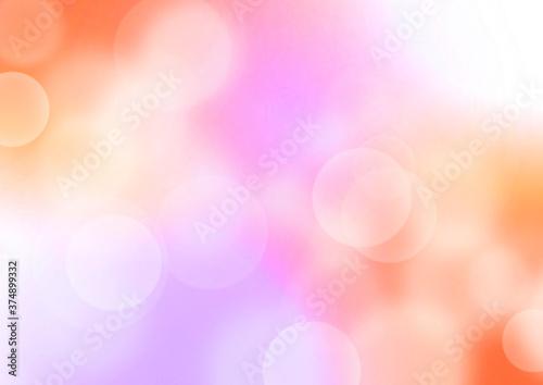 ピンク色のキラキラした春のイメージの背景イラスト
