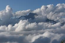 Rocky Mountain Peak Of The Alp...