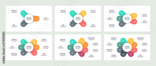 Fotomural Business infographic template