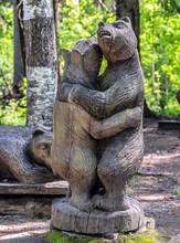 Carved Wood Figure Tales Bear