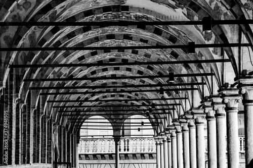 Padova (Veneto), dettagli e viste della città Canvas Print