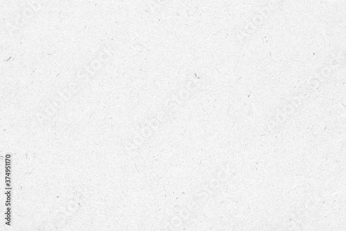 White recycle paper cardboard surface texture background Fotobehang