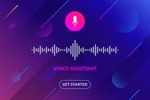 Voice Assistant Soundwave Illu...