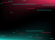 Abstract glitch TikTok background. Vector illustration. Abstract background. Light. Futuristic blue red gradient vector black background contrast color border digital dynamic elegant. TikTok, tik tok