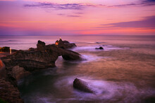 Sunset In Biarritz 4