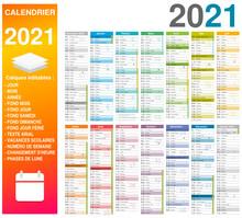 Calendrier 2021 14 Mois Avec V...