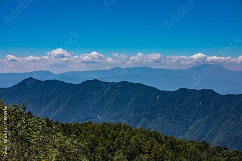 Obraz na plátně しらびそ高原からの景色