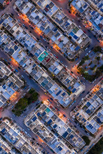 Aerial View Of A Residential  ...