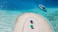 Aerial View Of A Sandbank, Nor...