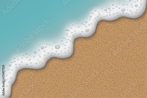 Ocean or sea Beach sand Canvas Print