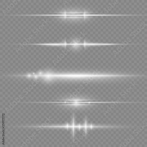 Photo White glowing light.