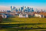 Fototapeta Londyn - grinwich