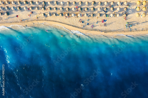 Photo Mediterranean sea