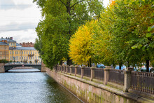Griboyedov Canal In Saint Pete...