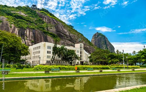 Military school at Urca neighborhood in Rio de Janeiro, Brazil