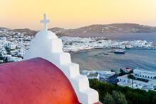 Mykonos (Hora), Cyclades Islan...