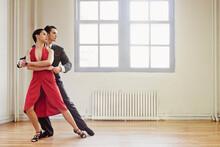 Ballroom Dancing - Couple In A...