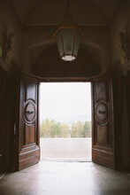 View Out Of Palace Doors Looki...