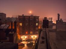 Brooklyn Skyline By Night