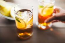Ice Tea On A Summer Day.